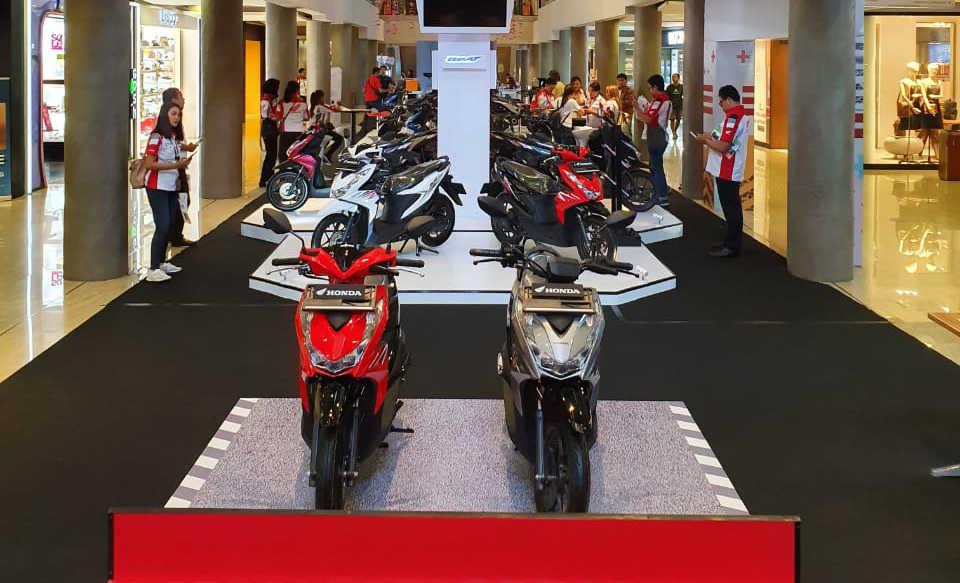 All New Honda BeAT Series Dipamerkan Dua Hari di Level 21 Mall
