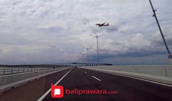 Selama PPKM Darurat, Lalulintas Jalan Tol Bali Mandara Turun 30 Persen Dibanding LHR Semester I 2021
