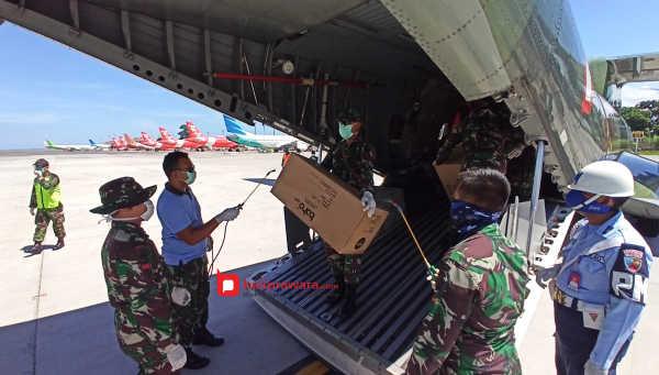Ribuan APD untuk Bali Kembali Didistribusikan Pemerintah Pusat