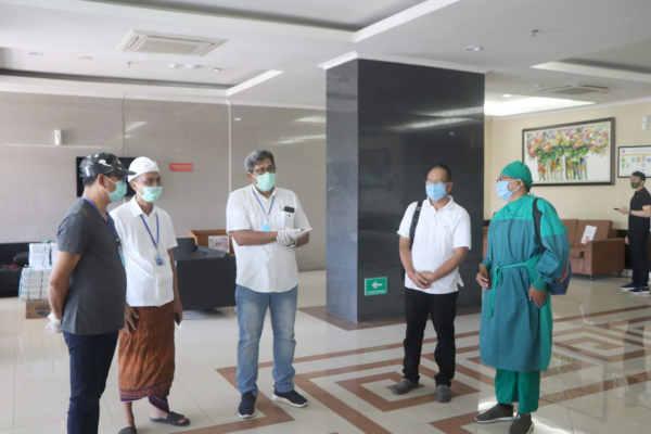 Komplit, Fasilitas Tempat Karantina Tim Medis di Badung