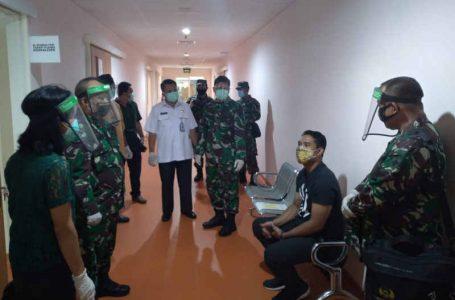 Danrem 163 Wira Satya Bersama Kakesdam IX/Udayana Kunjungi RS PTN Unud