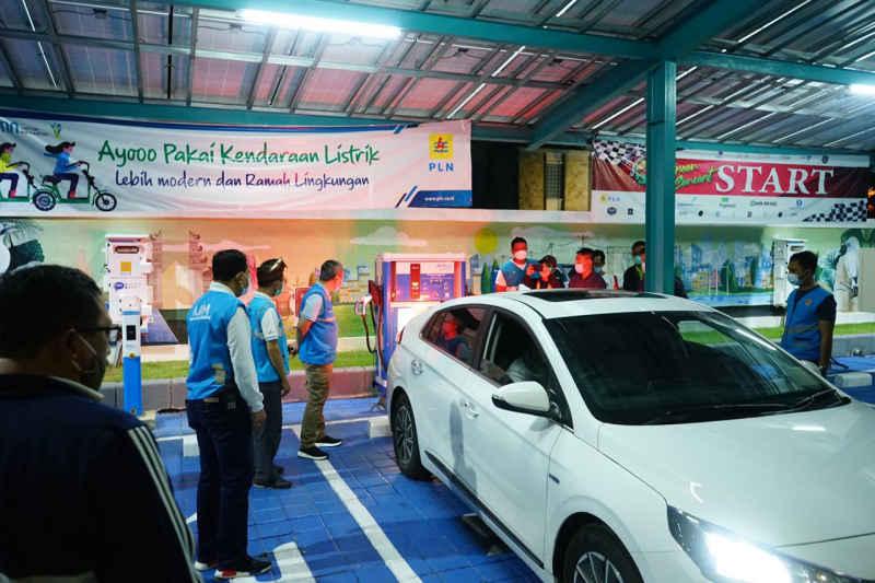 PLN Pastikan EV Charging, Rute Jakarta-Bali Siap Digunakan