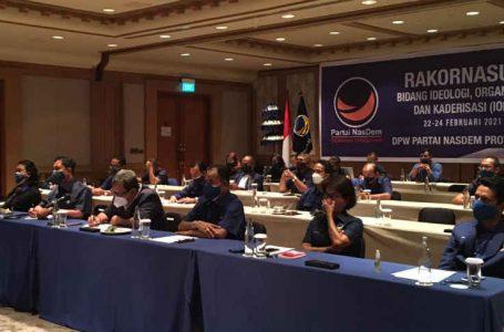Gelar Rakornasus IOK, Penguatan Infrastruktur Partai jadi Prioritas NasDem