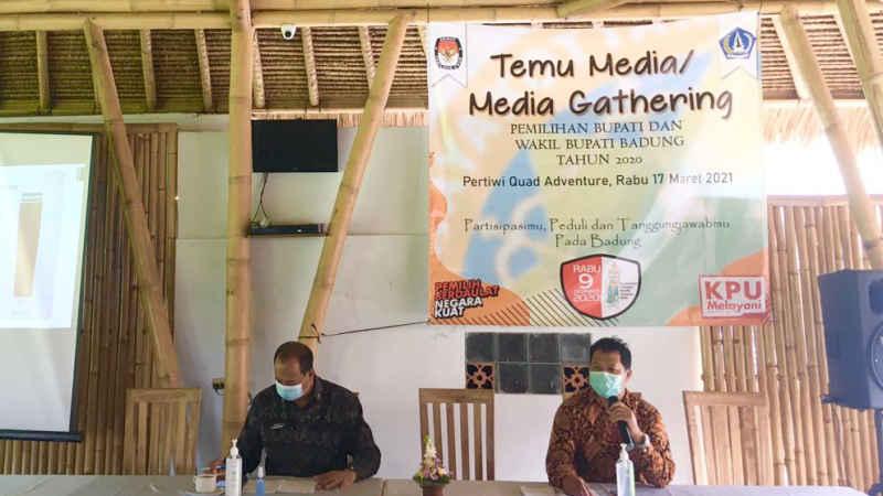 Tercatat Sebesar 84,62%, Partisipasi Pemilih Tahun 2020 di Badung Tertinggi se-Indonesia