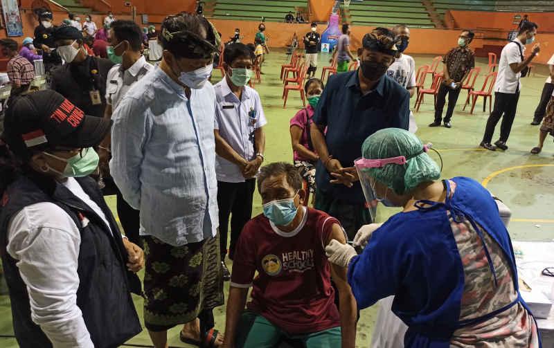 233 Ribu Masyarakat Badung Telah Mendapatkan Vaksin, Badung Terus Perluas Cakupan Zona Hijau