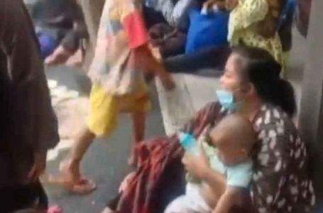 Mantan Pegawai Spa dengan Mengajak Balita dan Ratusan Gepeng Diamankan Satpol PP Badung