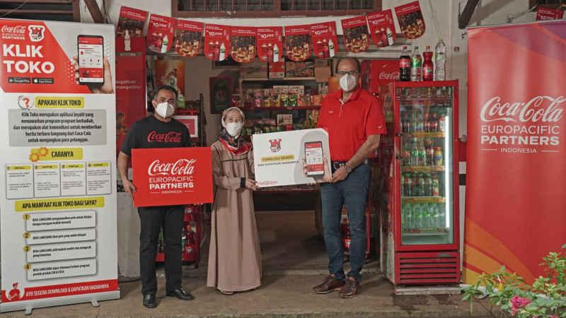 """Coca-cola Europacific Partners Indonesia Luncurkan Aplikasi """"Klik Toko"""""""