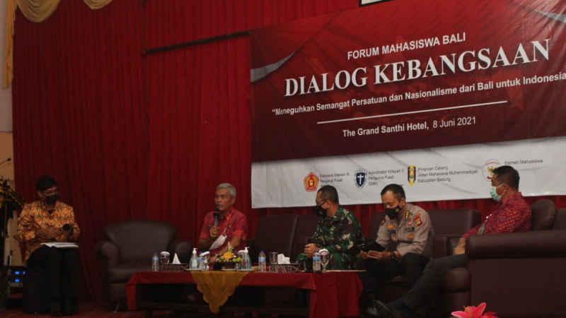 Forum Mahasiswa Bali Gelar Dialog Kebangsaan