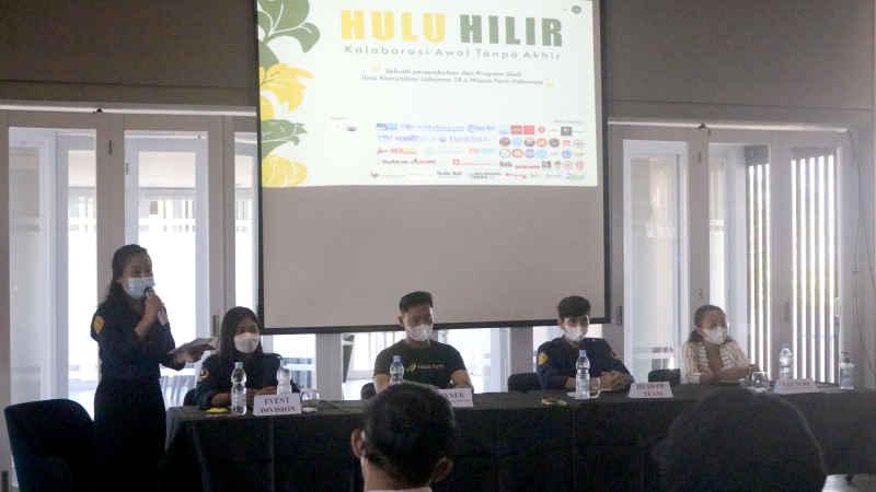 "Prodi Ilmu Komunikasi 2018 FISIP Unud, Gandeng Wijaya Farm Indonesia Gelar ""HULU HILIR"""