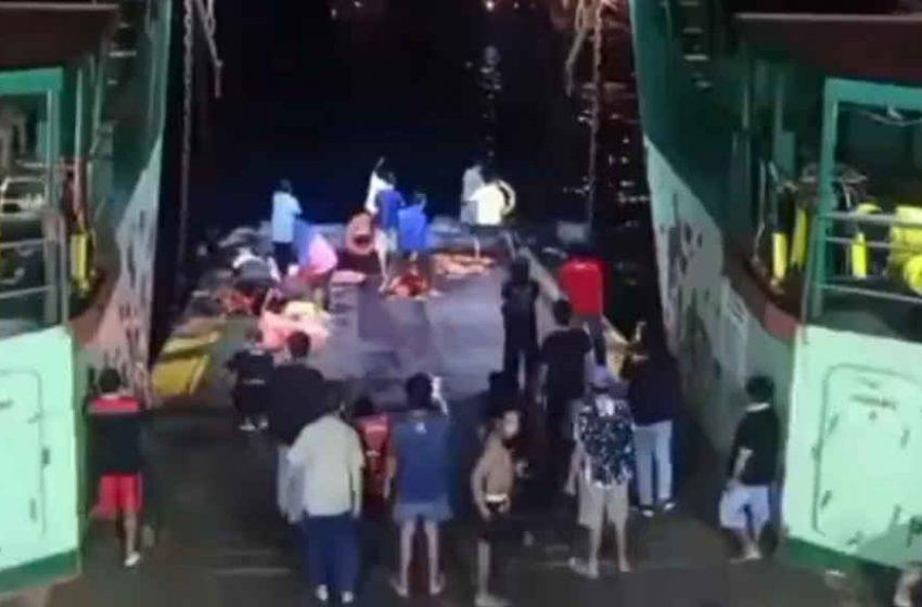 KMP Yunice Tenggelam di Perairan Gilimanuk, Basarnas Lakukan Evakuasi