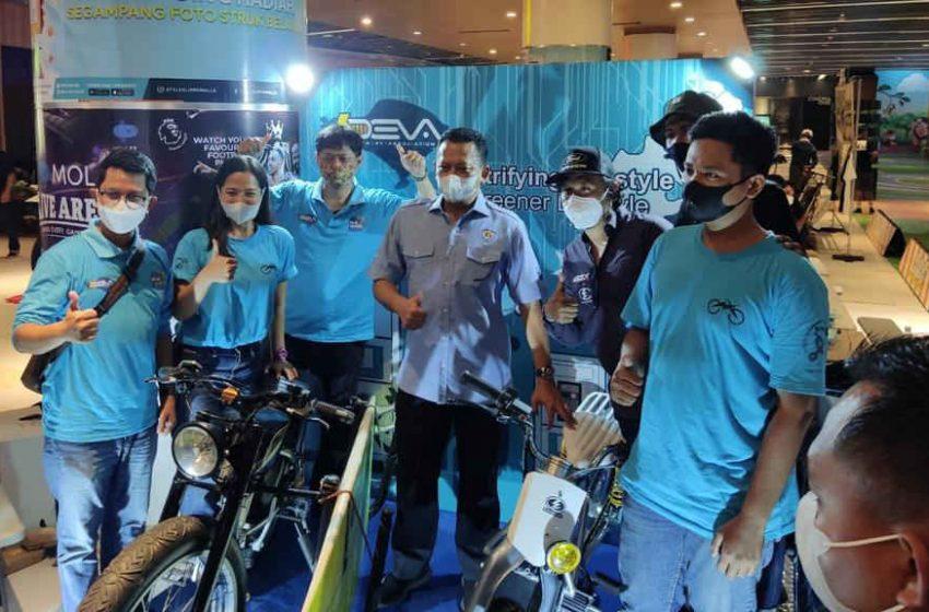 PLN Bali Bersama Komunitas Pamerkan Kreasi Motor Listrik