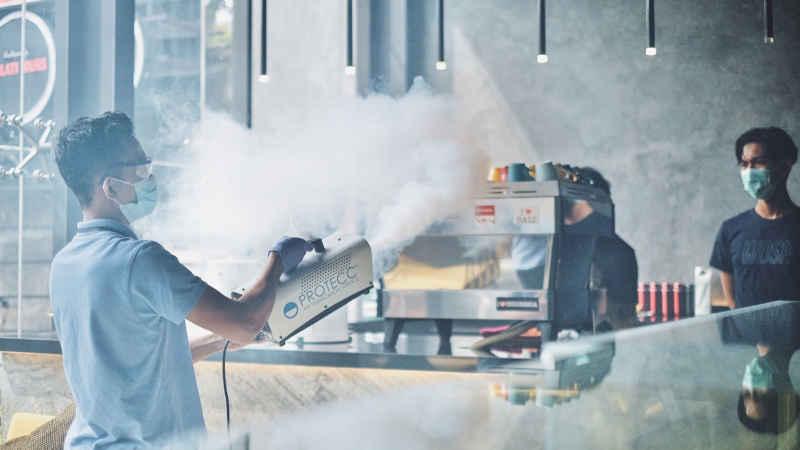 Protecc, Teknologi Sterilisiasi Ruangan Tanpa Residu dan Mampu Bunuh 99,99 Persen Virus