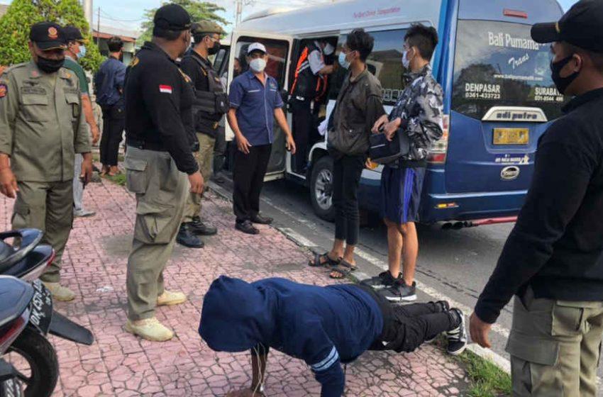 Masih Ada Masyarakat Abai Prokes, Tim Yustisi Denpasar Kembali Jaring 15 Pelanggar