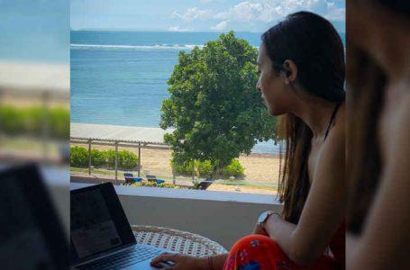 Menjadi Lebih Produktif dengan Pemandangan Samudra Hindia dari Hotel Nikko Bali