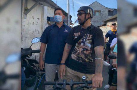 Peresmian Kantor DPC NasDem Densel, Yogi Arya Ajak Kader Bersepeda Menuju DPW Bali