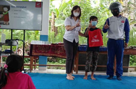 Astra Motor Bali Gandeng Rumah BCC, Edukasi Safety Riding dan Selalu #Cari_Aman Pada Anak Usia Dini