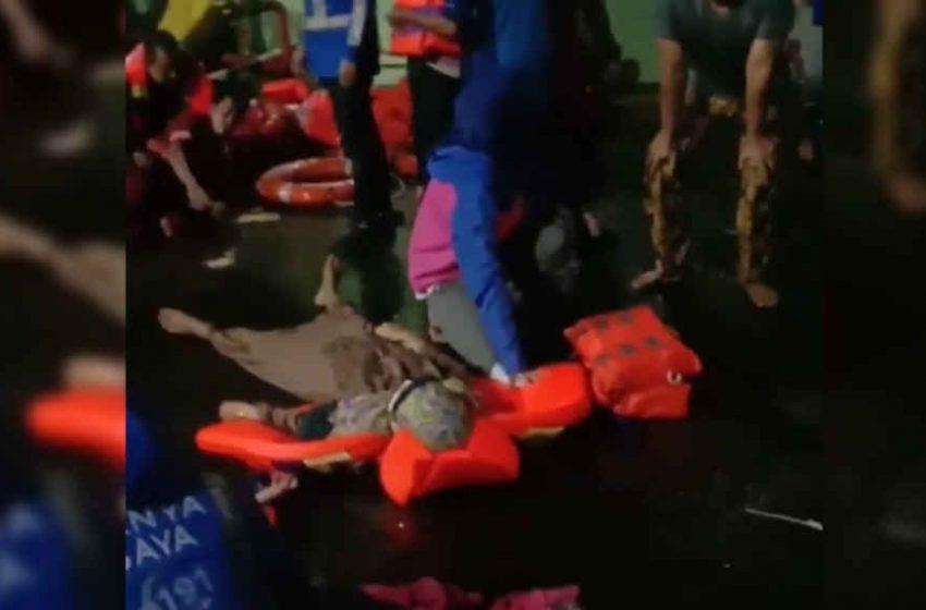 Sebelum Tenggelam, KMP Yunice Sempat Terseret Arus ke Selatan