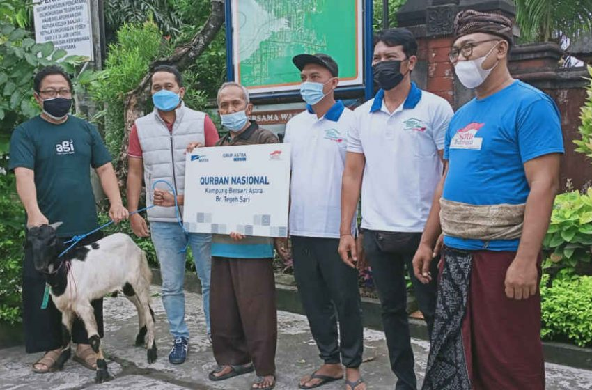 Peringatan Idul Adha 2021, Grup Astra Bali Salurkan Bantuan Hewan Kurban