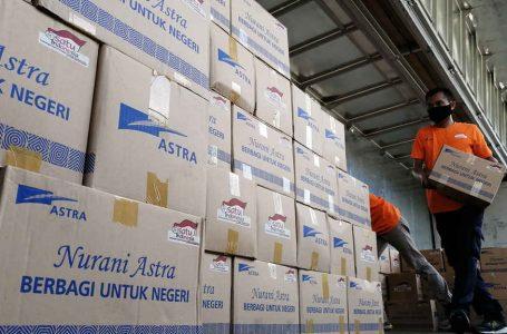Astra Serahkan Bantuan Tahap Ketujuh Total Senilai Rp 30 Miliar