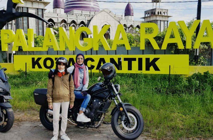 Lady Bikers Bali Jajal Performa Honda Rebel Hingga Ke Kalimantan