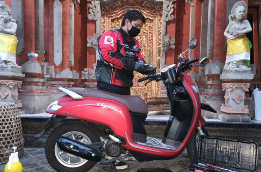 Layani Perawatan Motor, Honda Care Bali Siaga Saat PPKM Darurat