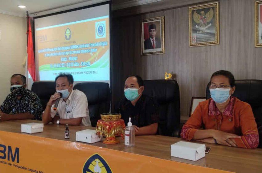 PKM Jurusan Akuntansi dan Teknik Mesin PNB di Kesiman Kertalangu, Beri Penguatan BUMDesa Berbasis Transaksi Digital