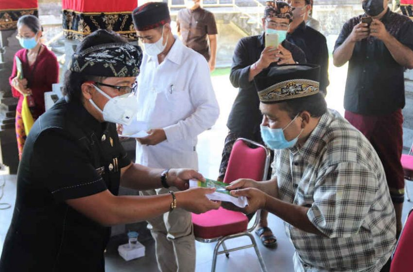 Launching Penyerahan BLT Tahap 2, Mulai Sasar Warga di Badung Selatan