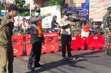 PPKM Darurat di Denpasar, 396 Kendaraan Diminta Putar Balik