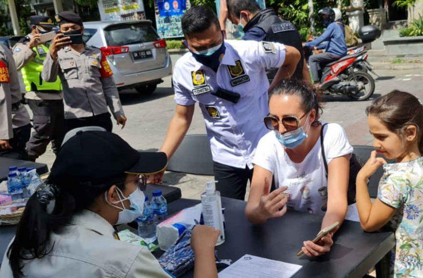 3 WNA di Ubud, Diganjar Denda 1 Juta Rupiah Akibat Melanggar Prokes