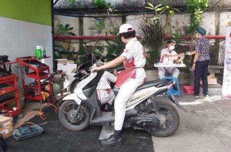 Astra Motor Bali Apresiasi Tenaga Medis Melalui Service Motor Honda Serba Hemat