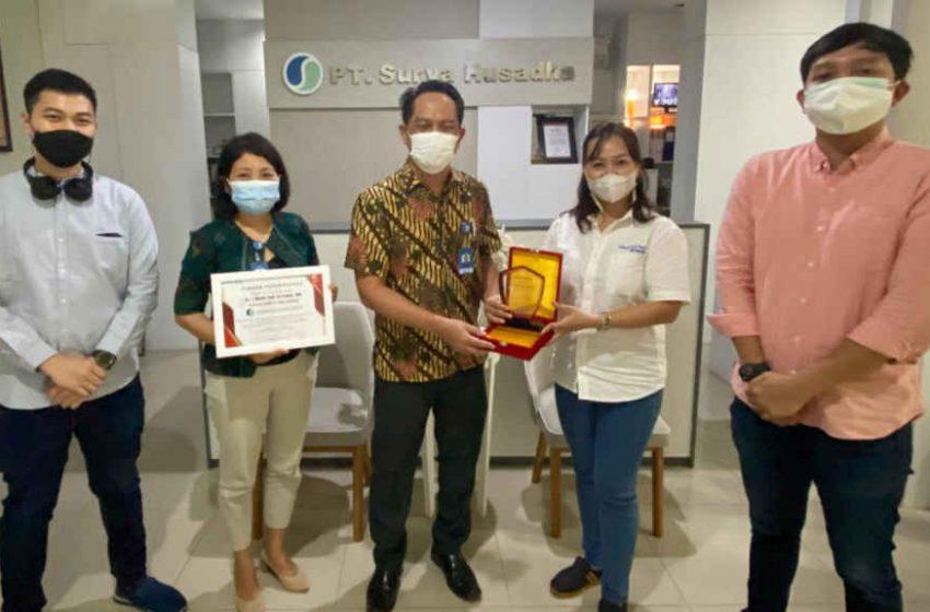 Sukses Vaksinasi ke Jaringan Honda, Astra Motor Bali Apresiasi RS Surya Husadha