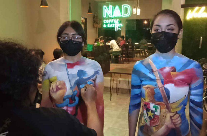 NAD Coffee and Eatery, Gelar Body Painting Bertema Hari Kemerdekaan RI