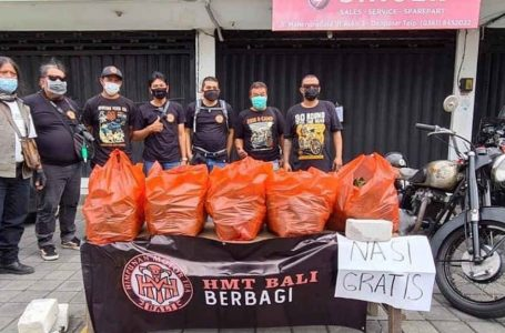 Tumbuhkan Rasa Kemanusiaan, HMT Bali Berbagi