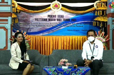 PKKMB ke-32 PNB, Mahasiswa Diharapkan Menjadi Insan Berkarakter Pancasila