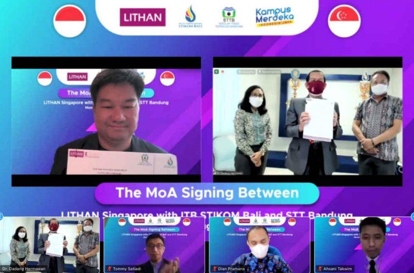 Terobosan ITB STIKOM Bali dalam Program Kampus Merdeka : Luncurkan Kuliah Sambil Magang Online di Singapura dan Digaji