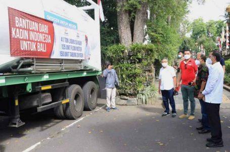 Kadin Indonesia Gelontor Bantuan Oksigen untuk Bantu Penanganan Pasien Covid-19 di Bali