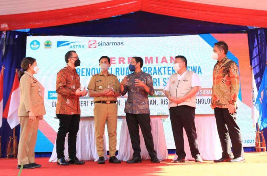 Astra Bantu Revitalisasi dan Pendampingan Tiga SMK di Surakarta