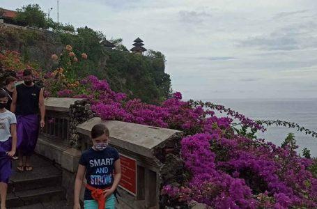 DTW Uluwatu Mulai Buka, Pengunjung Wajib Taati Prokes dan Gunakan Aplikasi PeduliLindungi
