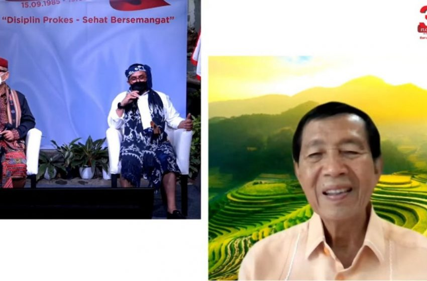 Mangku Pastika Minta Warga Flobamora Bali Patuhi Aturan Kependudukan dan Menyama Braya dengan Krama Bali
