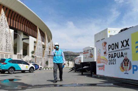 Kucurkan Dana Rp 313 Miliar Sukseskan PON XX Papua, PLN Juga Siagakan 1.574 Personel