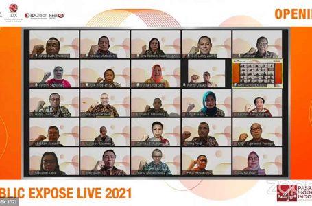 Kembali Digelar Daring, Public Expose LIVE 2021 Ditarget Diikuti 44.000 Pengunjung