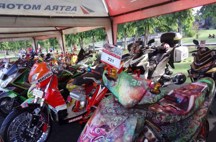 Bali Siap Sukseskan Honda Modif Contest 2021 Dengan 9 Kelas Lomba