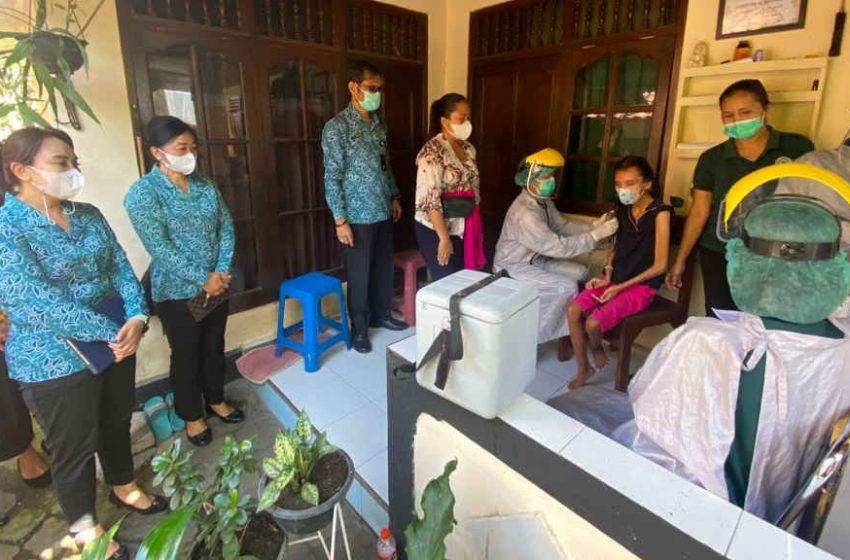 Sistem Jemput Bola, Denpasar Percepat Vaksinasi Covid-19 Pada Disabilitas