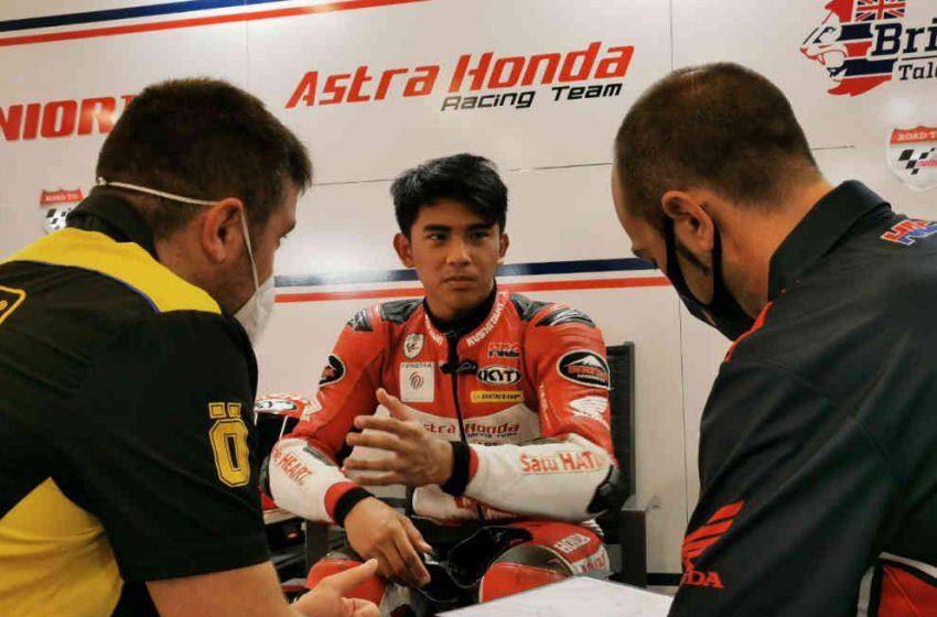 Mario Aji Pebalap Astra Honda, Siap Debut Balapan di Grand Prix Moto3