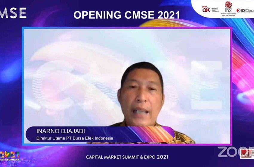 CMSE 2021, Tingkatkan Jumlah Investor Pasar Modal Guna Pemulihan Ekonomi Nasional