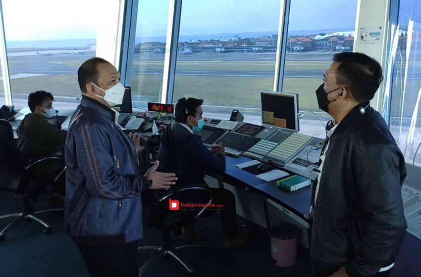 Airnav Matangkan Kesiapan Sambut Penerbangan Internasional di Bandara Ngurah Rai