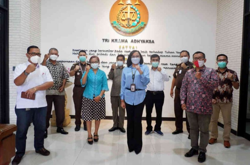 Pererat Sinergitas, Ikatan Keluarga Batak Bali Audiensi ke Kajari Denpasar