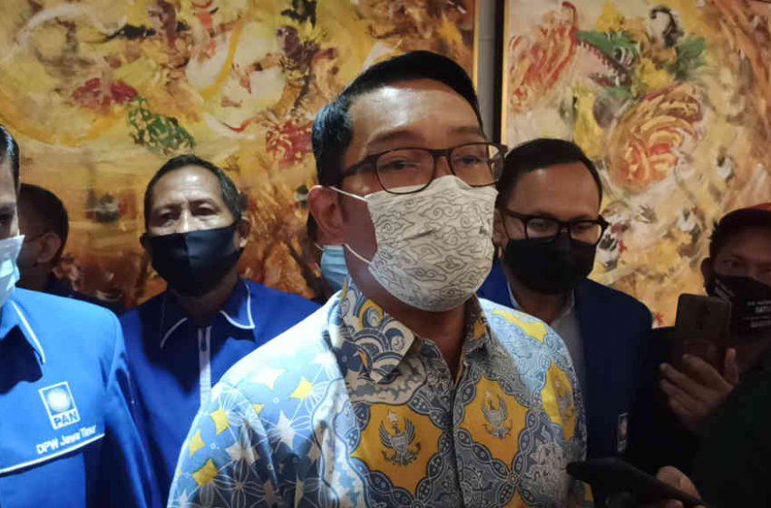 Ridwan Kamil Berharap Presiden RI 2024 Berasal dari Generasinya
