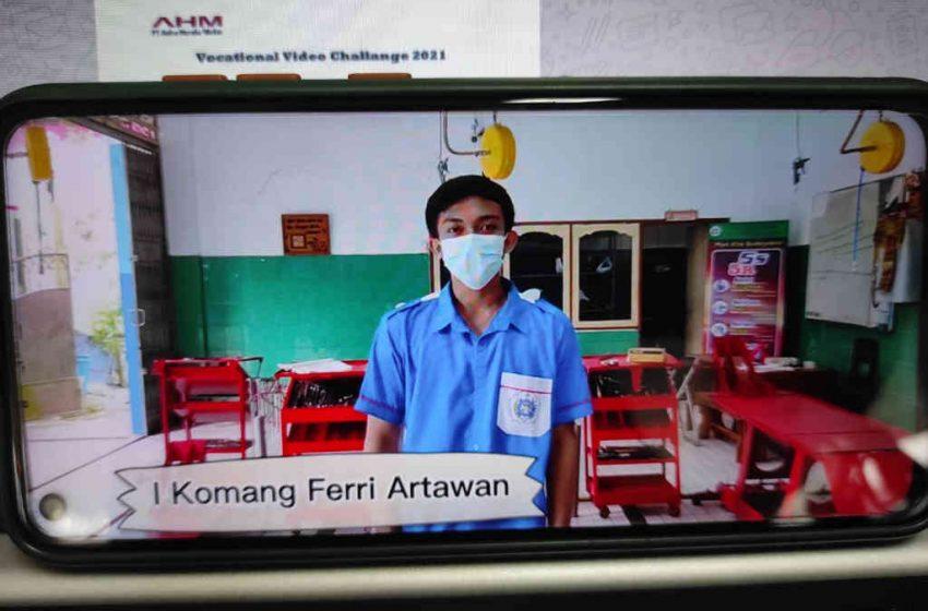 Vocational Video Challenge 2021, Astra Motor Bali Kirim SMK PGRI 2 Badung ke Nasional