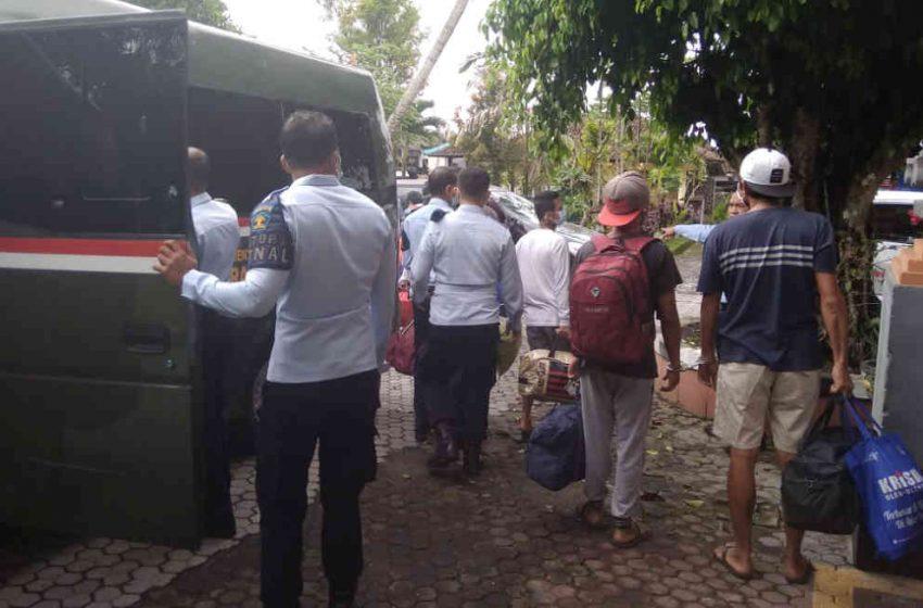 Belasan Narapidana Rutan Bangli Dipindah ke Lapas Narkotika Bangli